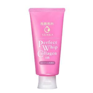 Sữa Rửa Mặt Senka Perfect Whip Collagen In - Mặt Chống Lão Hóa