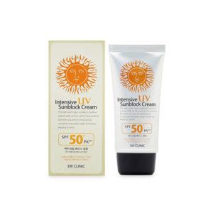 Kem Chống Nắng 3W Clinic Intensive UV Sunblock Cream 50SPF