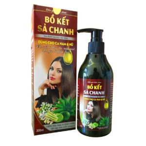 Dầu Gội Bồ Kết Xả Chanh Việt Nhật