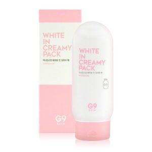 Kem Dưỡng Da Trắng Hồng G9 Skin White In Milk Whipping Cream